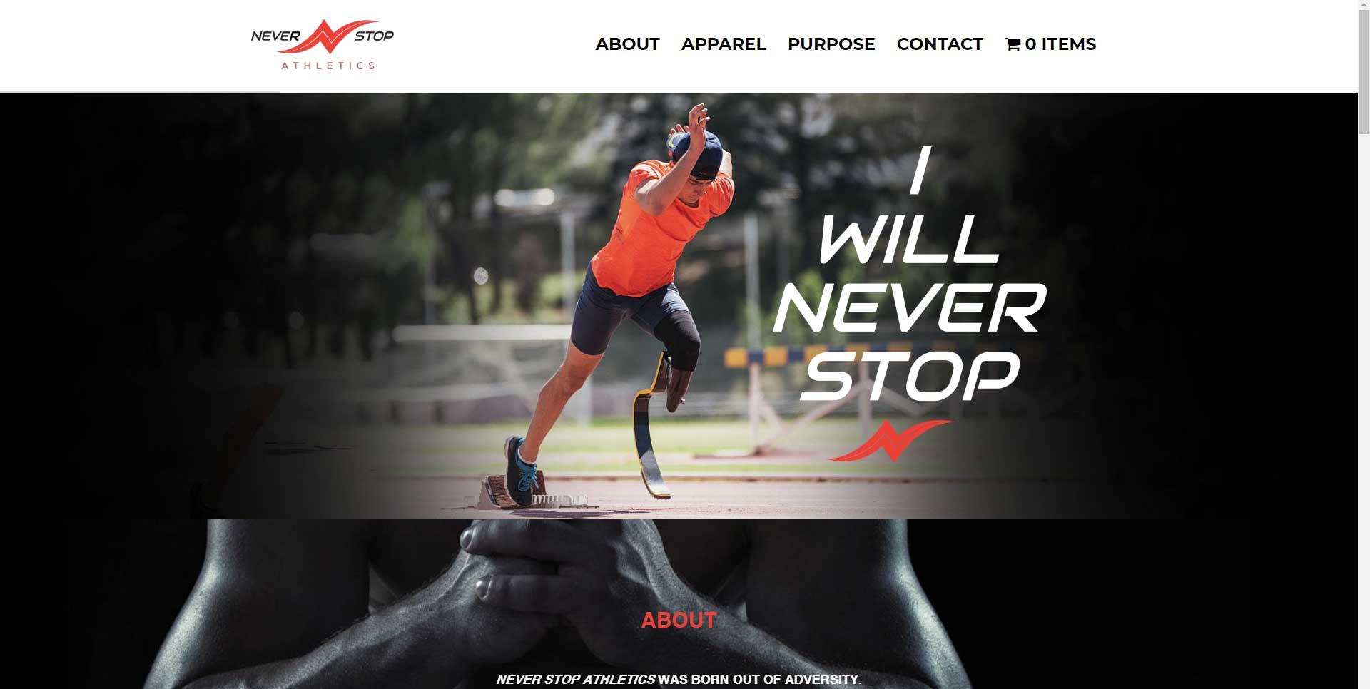 Never Stop Athletics