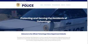 Tishomingo Police Department screenshot